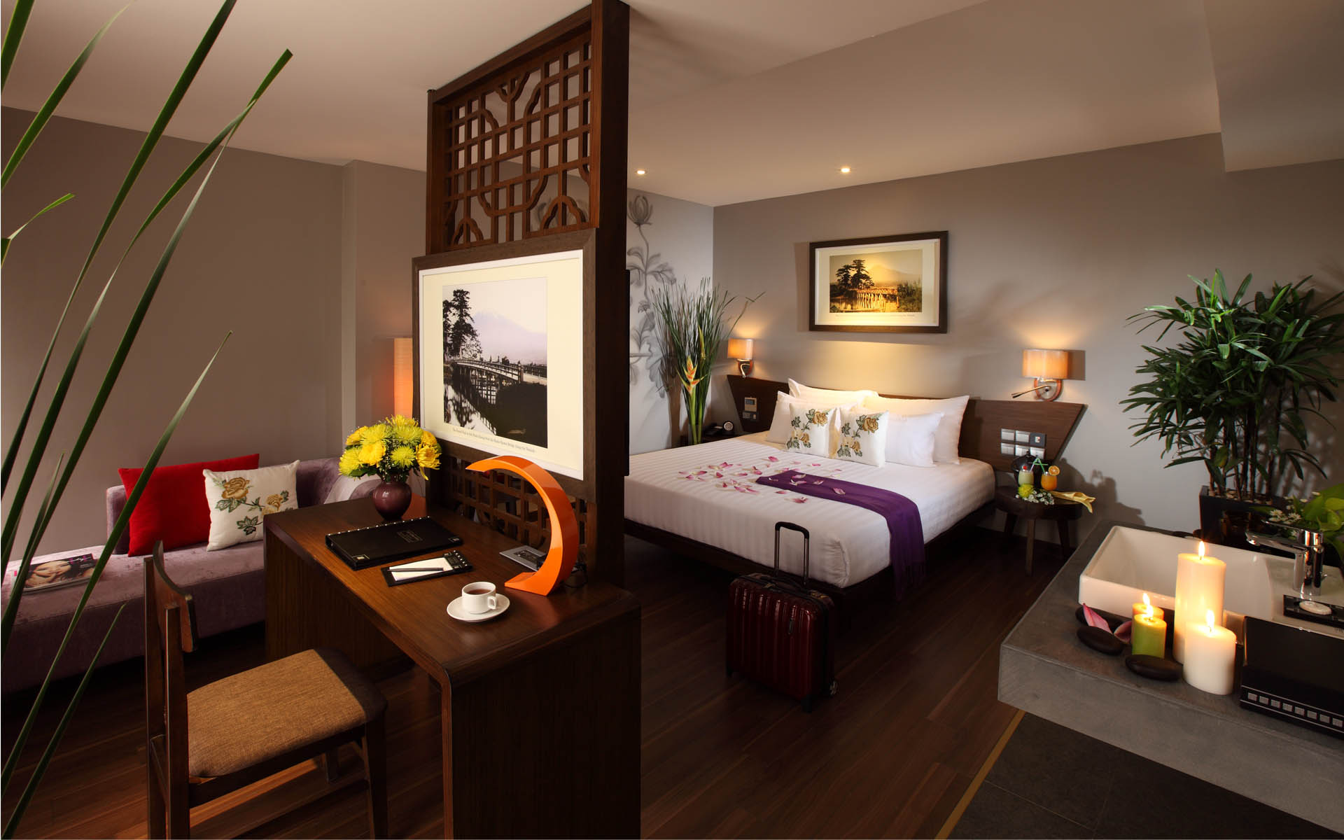 Spacious Room with business facilities